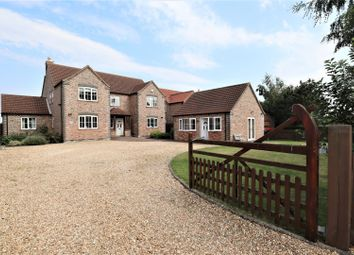 Thumbnail 5 bedroom detached house for sale in Fiskerton Road, Reepham, Lincoln