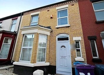 Thumbnail 5 bedroom terraced house to rent in Gainsborough Road, Wavertree, Liverpool, Merseyside