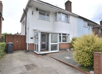 Thumbnail 3 bed semi-detached house for sale in Kingscroft Road, Hucclecote, Gloucester