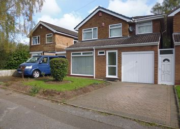 Thumbnail 3 bed detached house to rent in Wentworth Way, Birmingham, West Midlands