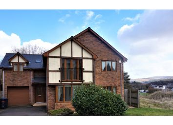 Thumbnail 4 bed detached house for sale in Valley View, Brynmawr