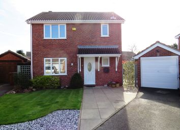 Thumbnail 3 bedroom detached house for sale in Jessop Drive, Stenson Fields, Derby