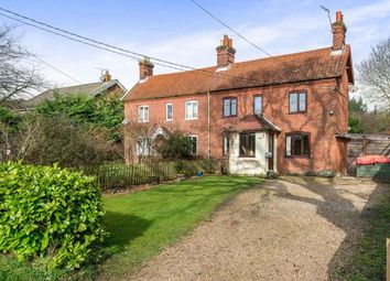 Thumbnail 3 bed semi-detached house for sale in Little Melton, Norwich, Norfolk