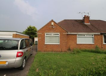 Thumbnail 2 bed semi-detached bungalow for sale in Woodend, Pensby, Wirral