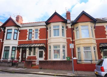 Thumbnail 3 bed terraced house for sale in Cosmeston Street, Cardiff