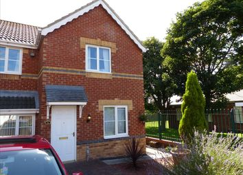 Thumbnail 2 bedroom semi-detached house to rent in Halvergate Close, Sunderland