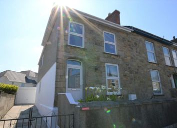 Thumbnail 3 bed semi-detached house to rent in Wellington Road, Camborne, Cornwall