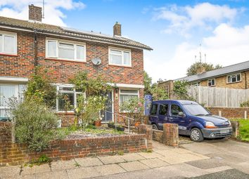 Thumbnail 3 bedroom end terrace house for sale in Dickens Road, Crawley
