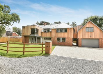 Thumbnail 6 bed detached house for sale in Shepherds Lane, Compton, Winchester, Hampshire