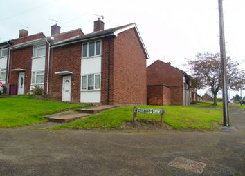 Thumbnail 2 bed semi-detached house to rent in Hambleton Avenue, North Wingfield, Chesterfield