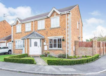 Thumbnail 3 bed semi-detached house for sale in Ash Court, Maltby, Rotherham