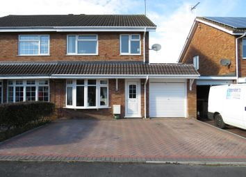 Thumbnail 3 bed semi-detached house for sale in Streamside Close, Penkridge, Stafford