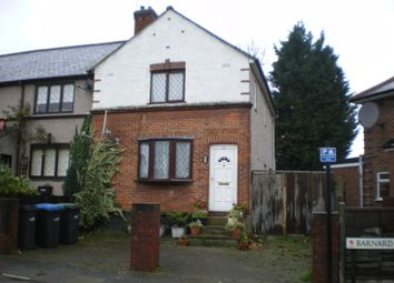 Thumbnail 3 bed end terrace house for sale in Barnard Road, London