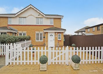 Thumbnail 3 bed semi-detached house for sale in Livesey Close, London