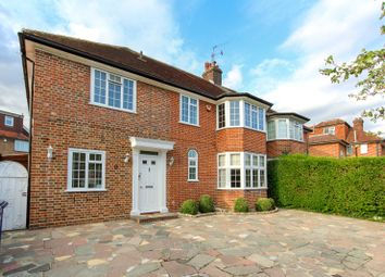 Thumbnail 4 bed semi-detached house for sale in Fairview Way, Edgware