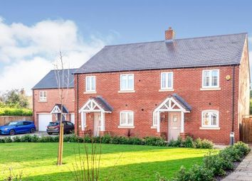Thumbnail 3 bed semi-detached house for sale in Hewitt Road, Barford, Warwick, Warwickshire