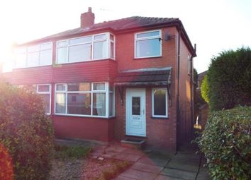 Thumbnail 3 bedroom semi-detached house for sale in Hastings Road, Prestwich, Manchester, Greater Manchester