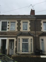 Thumbnail 4 bedroom terraced house to rent in Arran Street, Y Rhath, Cardiff