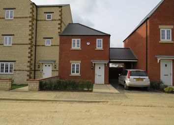 Thumbnail 2 bed semi-detached house to rent in Poppyfield Road, Wootton, Northampton