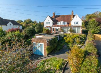 Thumbnail 3 bed semi-detached house for sale in Houndean Rise, Lewes