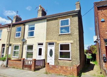 Thumbnail 3 bedroom end terrace house to rent in Holly Road, Lowestoft