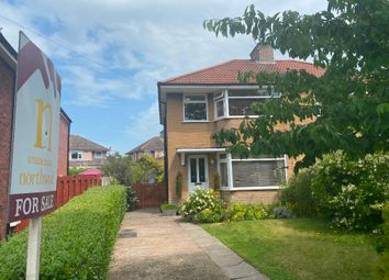 Thumbnail 3 bed semi-detached house for sale in Knowe Park Avenue, Carlisle