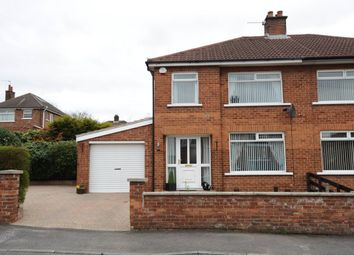 Thumbnail 3 bedroom semi-detached house for sale in Orangefield Parade, Orangefield, Belfast