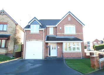 Thumbnail 4 bed detached house for sale in Poplar Way, Hartshill, Nuneaton