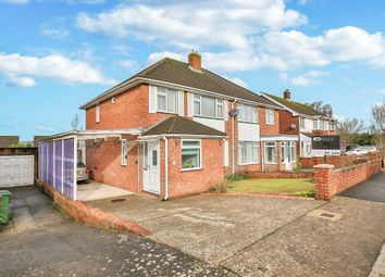 Thumbnail 3 bed semi-detached house for sale in Torrens Drive, Lakeside, Cardiff