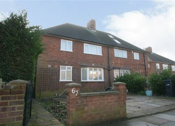 Thumbnail 4 bed semi-detached house to rent in Green Road, London