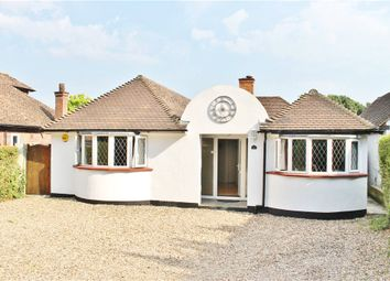 Thumbnail 5 bed detached bungalow to rent in Spinney Hill, Addlestone, Surrey