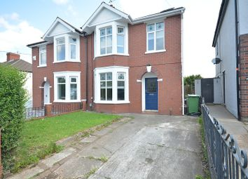 Thumbnail 4 bed semi-detached house for sale in Wentloog Road, Rumney, Cardiff.