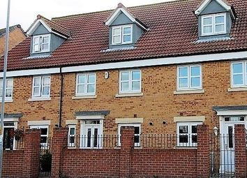Thumbnail 4 bed town house for sale in Sandringham Meadows, Blyth