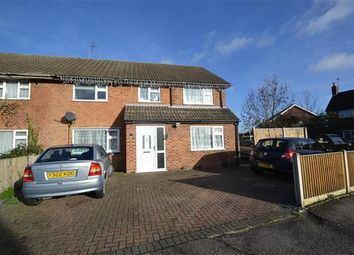 Thumbnail 4 bed semi-detached house for sale in Britannia Way, Stanwell, Staines