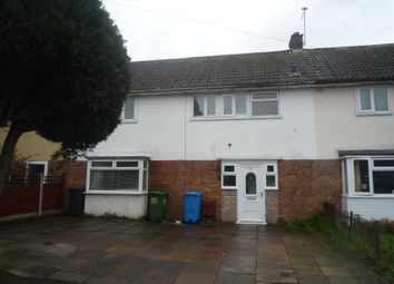 Thumbnail 3 bed terraced house to rent in Deansfield Close, Brewood