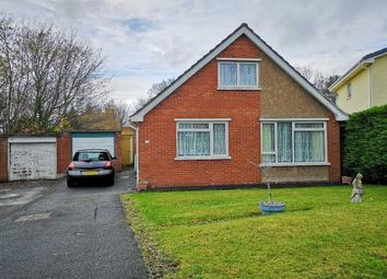 Thumbnail 4 bed detached bungalow for sale in Erw Goch, Erw Goch, Waunfawr