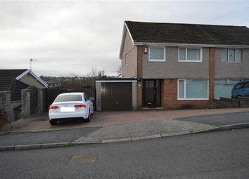 Thumbnail 3 bed semi-detached house for sale in Lime Grove, Killay, Swansea