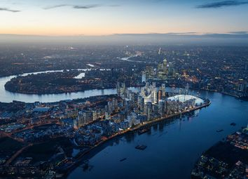 Thumbnail 1 bed flat for sale in Upper Riverside, Greenwich
