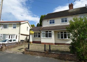 Thumbnail 2 bed semi-detached house for sale in Meadow Lane, Newcastle-Under-Lyme