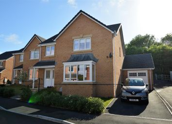 Thumbnail 4 bed detached house for sale in Heol Miaren, Llanharry, Pontyclun