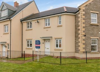 Thumbnail 3 bed terraced house for sale in Ffordd Yr Hebog, Coity, Bridgend