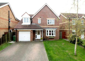 Thumbnail 4 bed detached house for sale in Cawthorn Close, Driffield