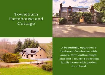 Thumbnail 8 bed detached house for sale in Towieburn House And Cottage, Drummuir, Keith, Banffshire