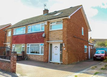 Thumbnail 4 bed semi-detached house for sale in Hopewell Drive, Gravesend