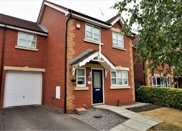 Thumbnail 3 bed link-detached house to rent in Stewart Street, Crewe