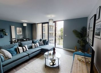 Thumbnail 2 bedroom flat for sale in The Waldrons, Croydon, London