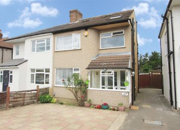 Thumbnail 4 bed semi-detached house for sale in Holyrood Avenue, Harrow