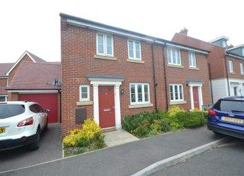 Thumbnail 3 bed semi-detached house for sale in Bristol Road, New Costessey, Norwich
