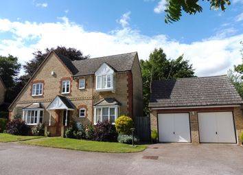 Thumbnail 4 bedroom detached house for sale in Sharmans Close, Cogenhoe, Northampton