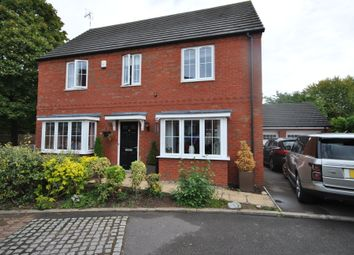 Thumbnail 5 bedroom link-detached house for sale in Damson Grove, Solihull, West Midlands
